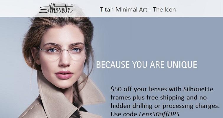 silhouette rimless eyeglasses