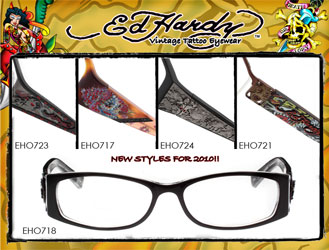 ed hardy ophthalmic eyeglasses frames per page