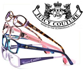 Juicy Couture Eyeglasses and other Juicy Couture Eyewear by Simply ... 806360d8a2